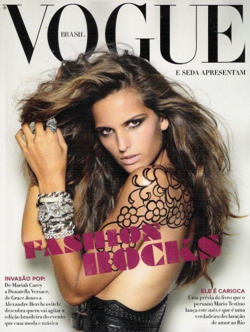 Izabel VOGUE FASHION ROCKS 2009